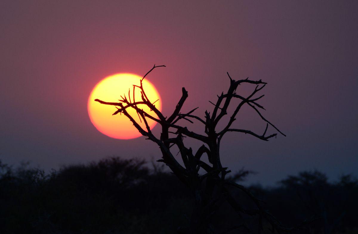 Exploring Namibia's Spectacular Caprivi Strip Sunset