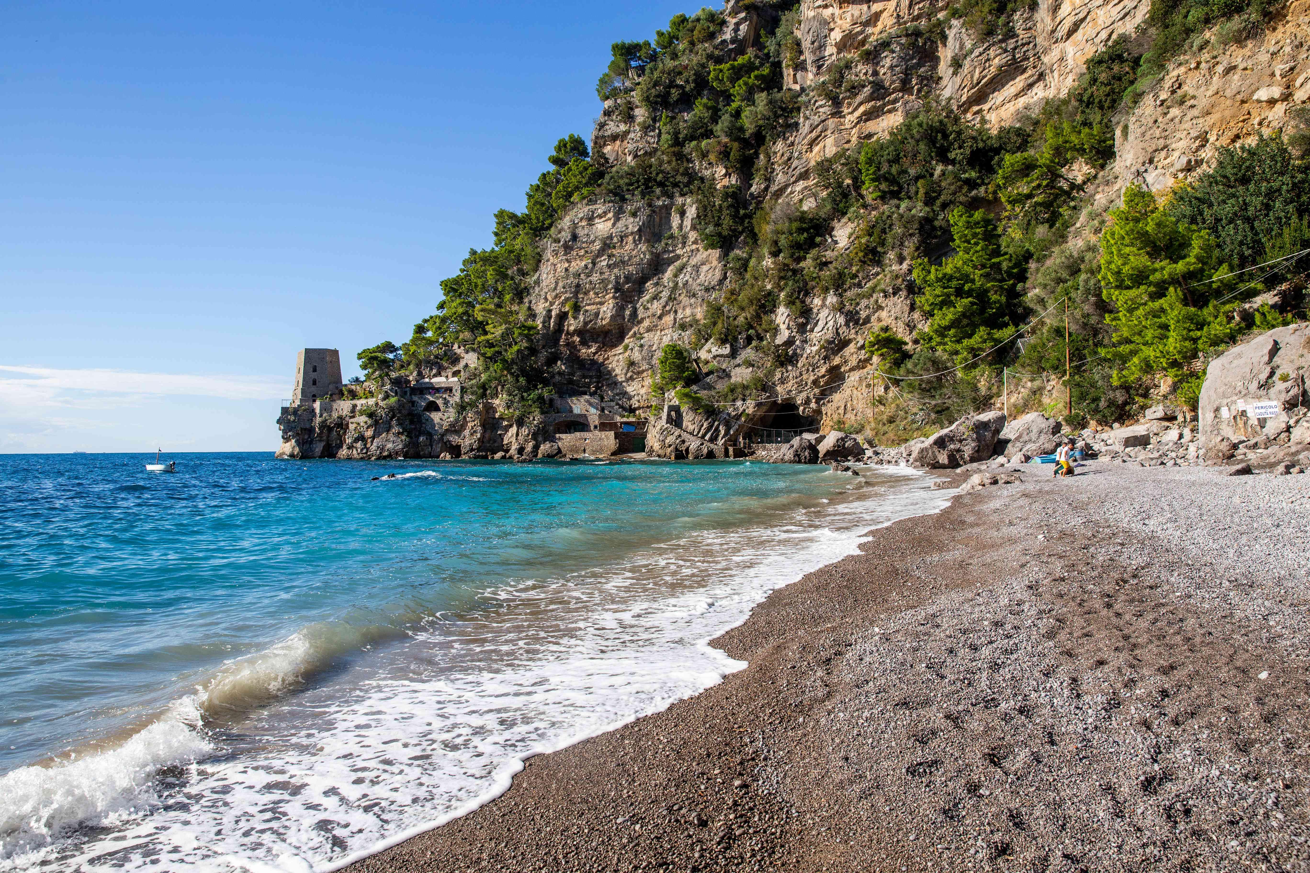 Fornillo Beach, Amalfi Coast, Italy
