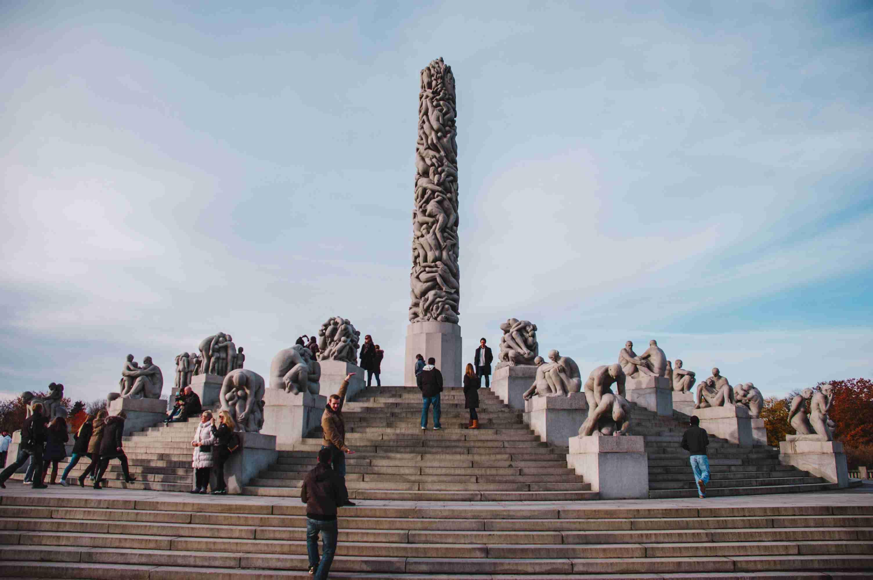 Sculpture Garden in Oslo