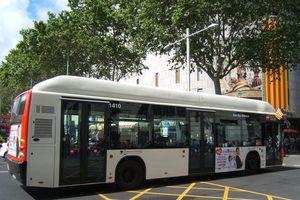 Bus in Barcelona, Spain
