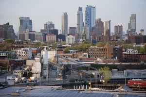 Panorama of Brooklyn, New York