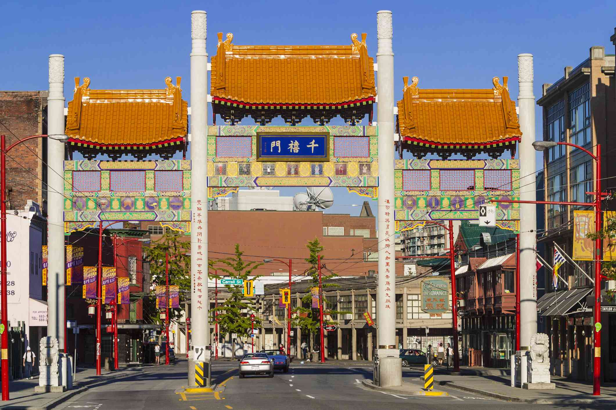 Chinatown Millenium Gate, Vancouver