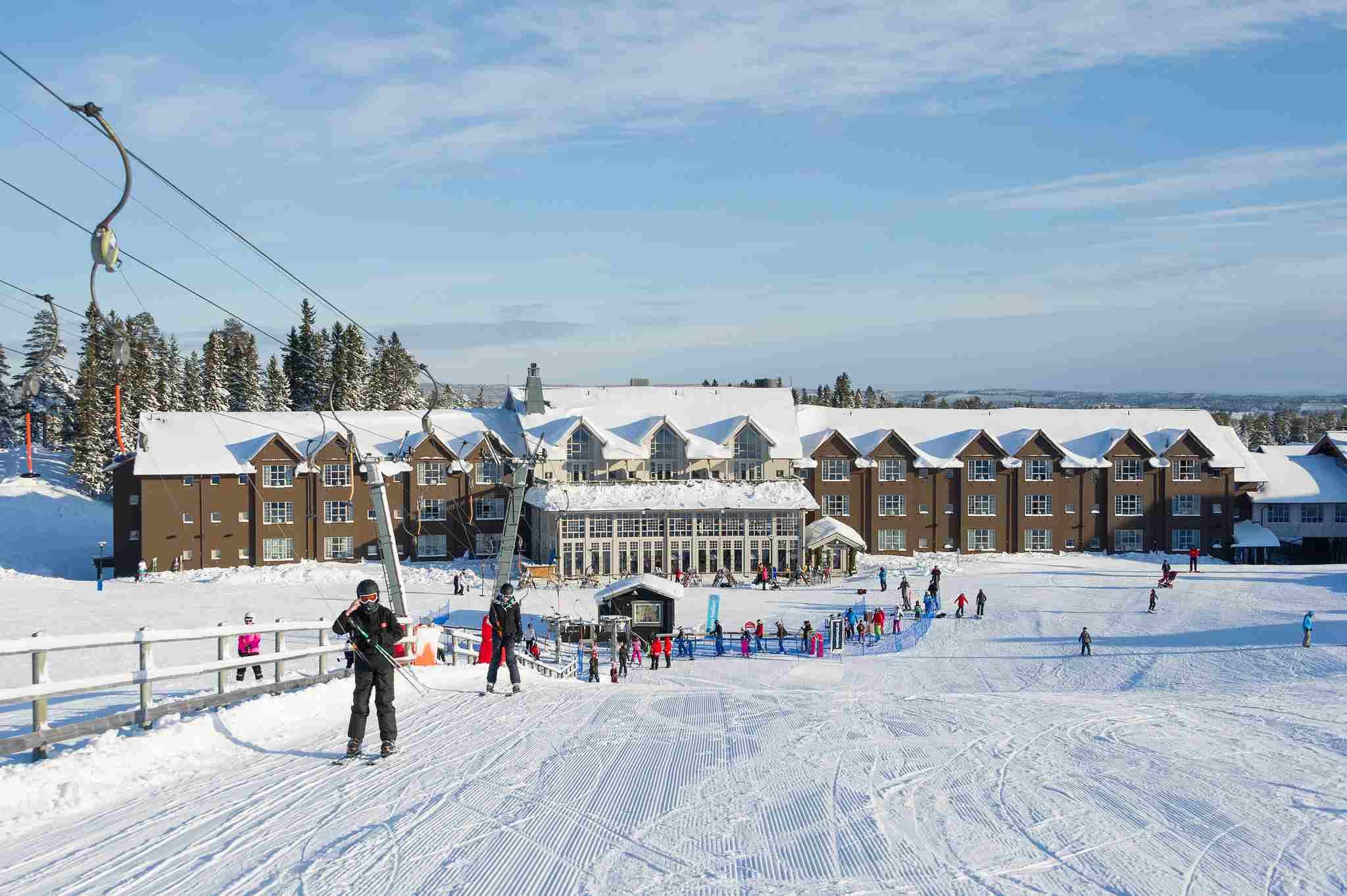 Salen ski resort