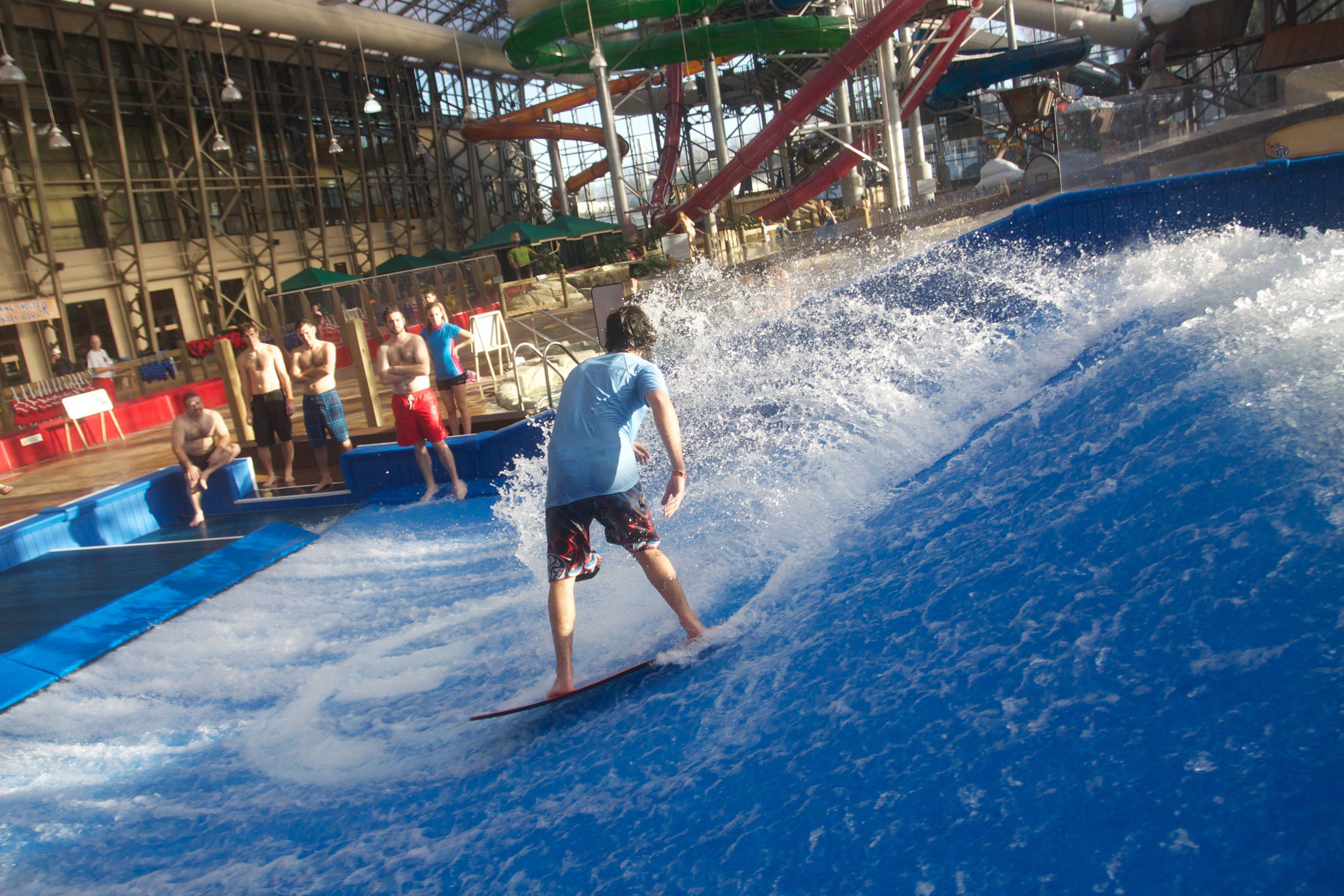 Pump House Waterpark at Jay Peak in Vermont