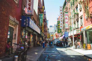 Chinatown in Manhattan, New York