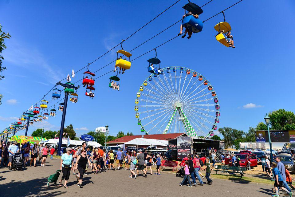 Minnesota State Fair - Paseos y personas
