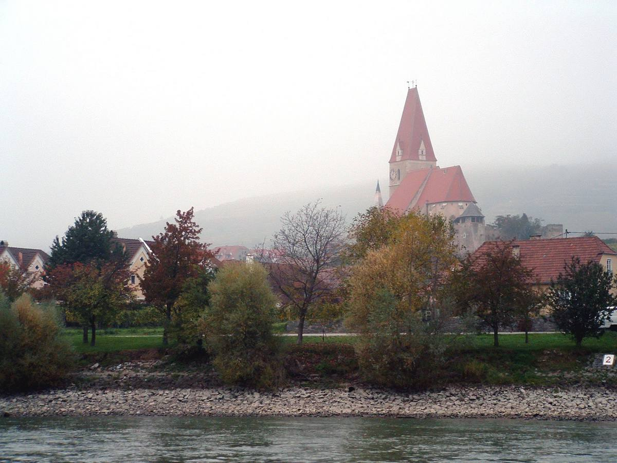 Wachau Valley in Austria on the Danube River