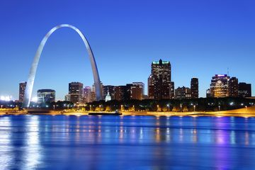 Gateway Arch and St. Louis Skyline