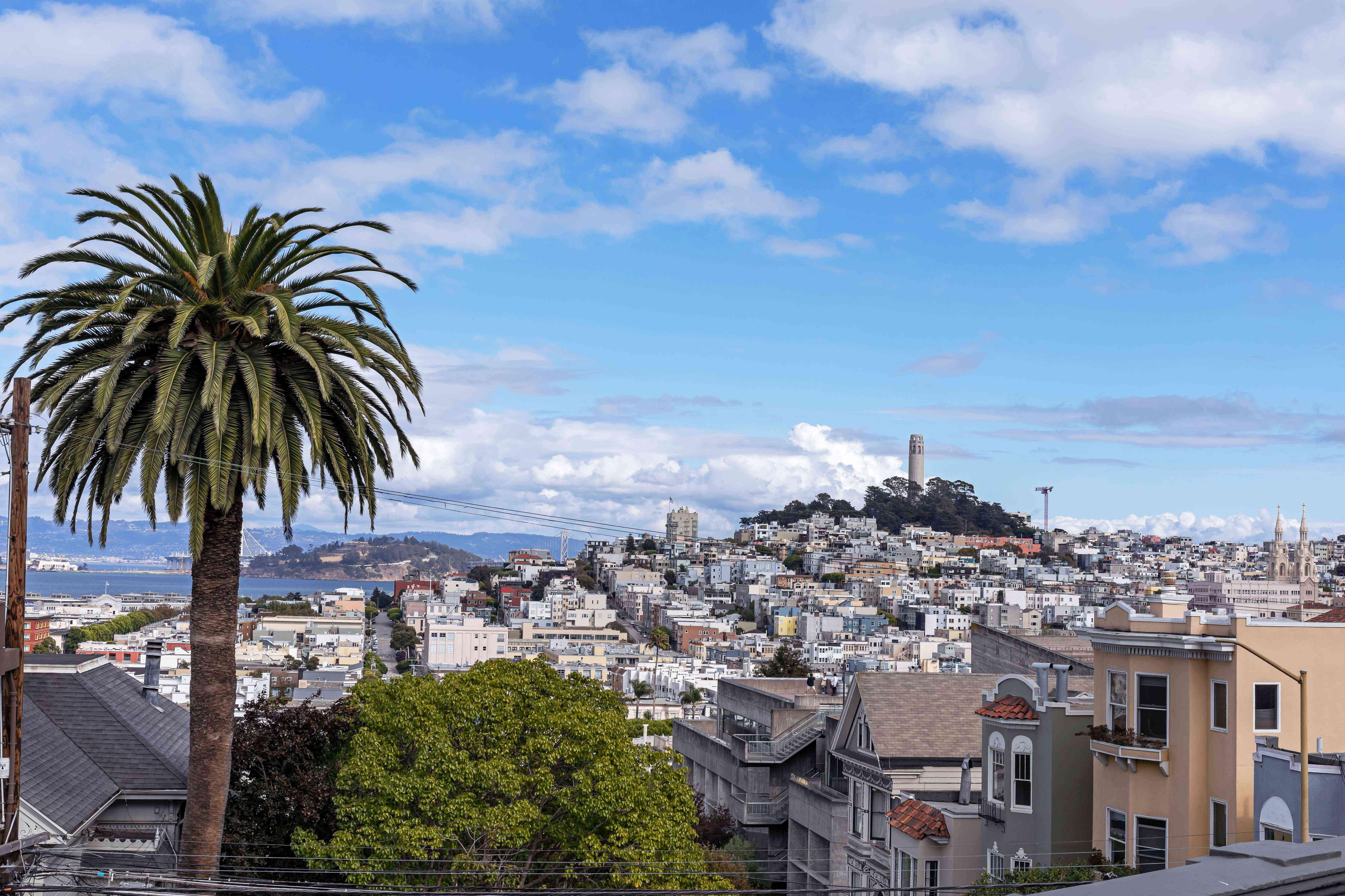 Coit Tower, Telegraph Hill, San Francisco