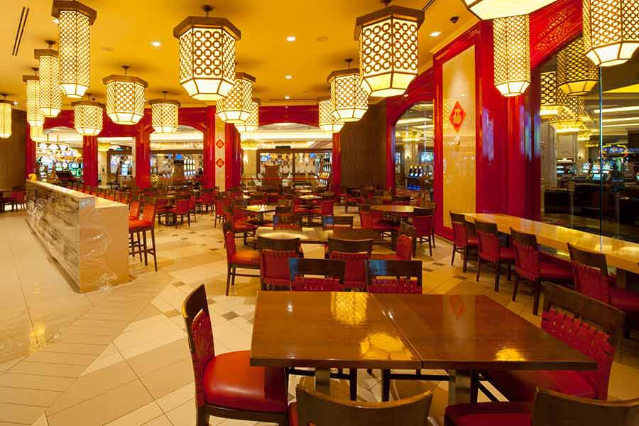 A Chinese restaurant in Las Vegas