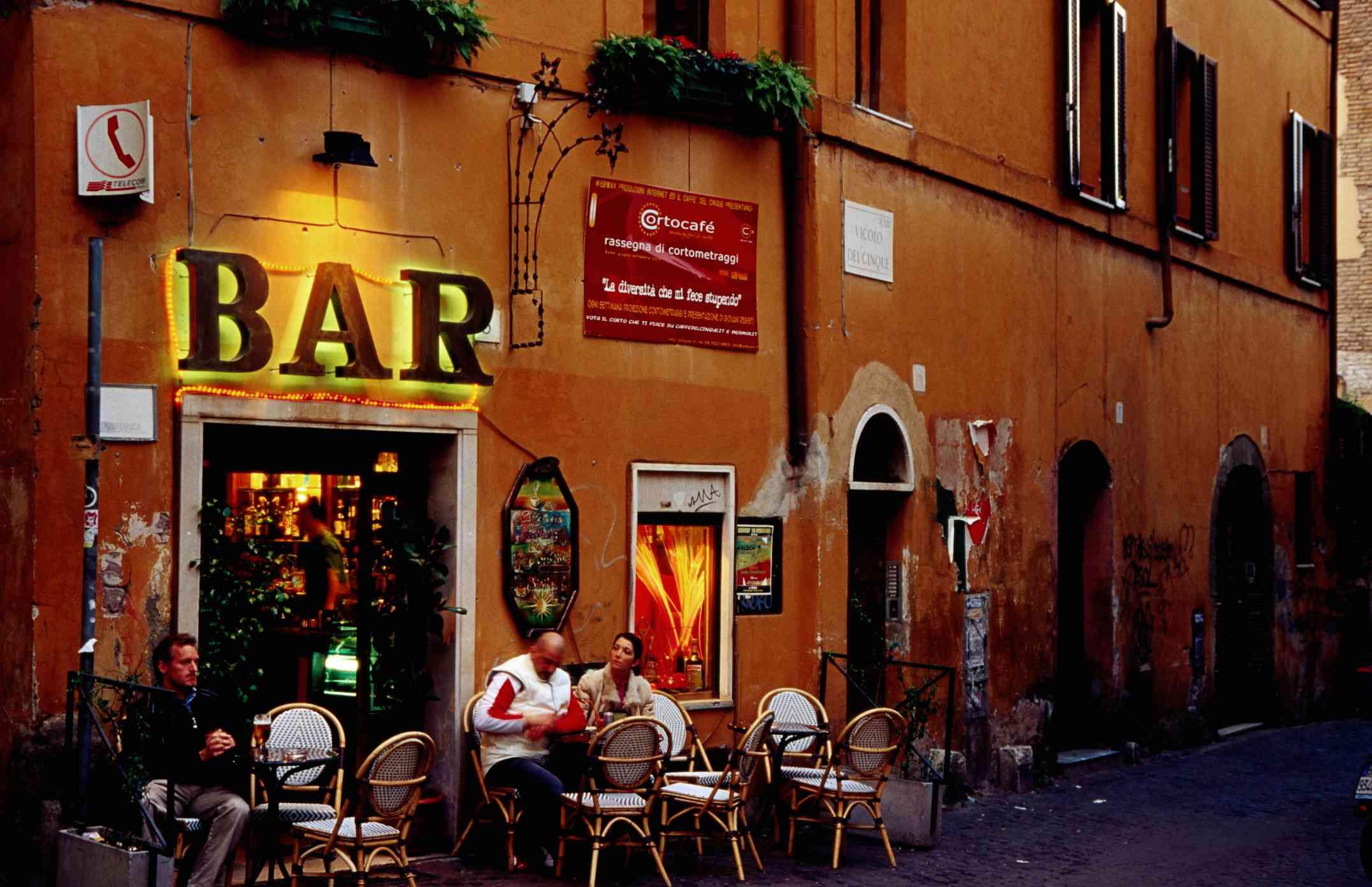 Nightlife in Rome