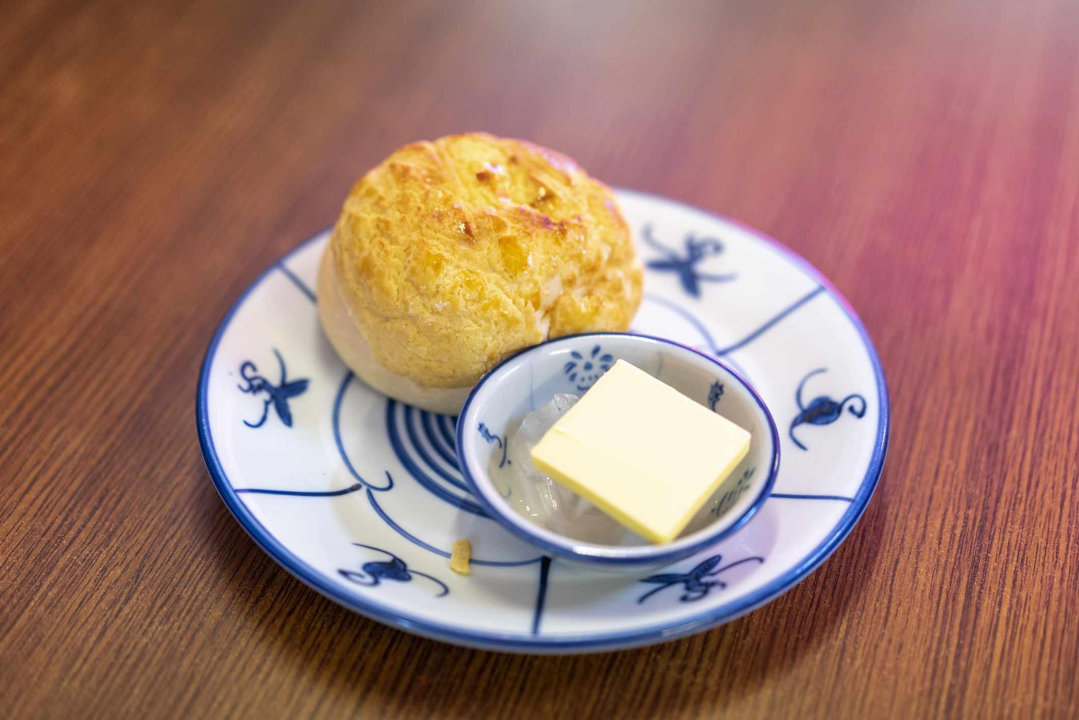 Close-up of Hong Kong cuisine
