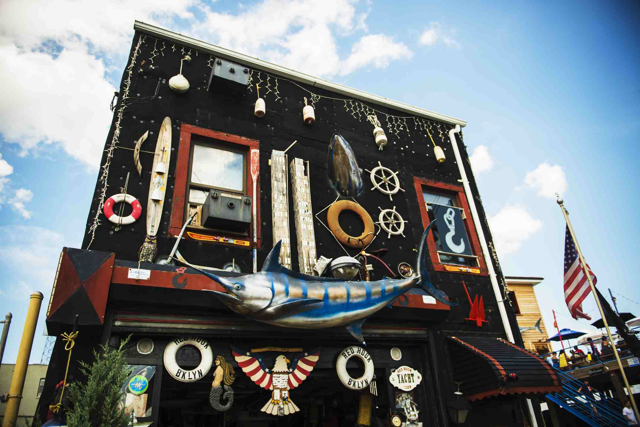 Small quirky shop in Red Hook, Brooklyn