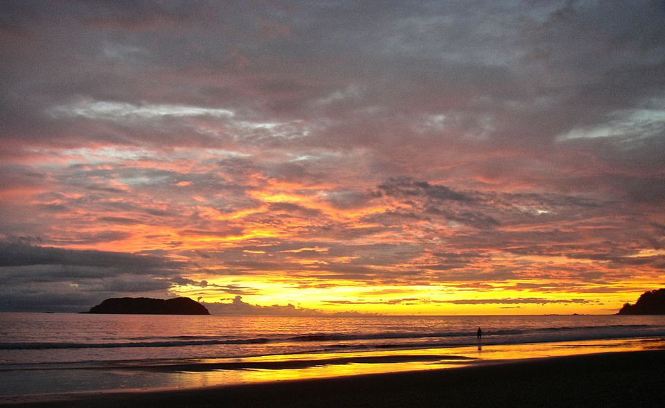 Sunset Over Manuel Antonio, Costa Rica