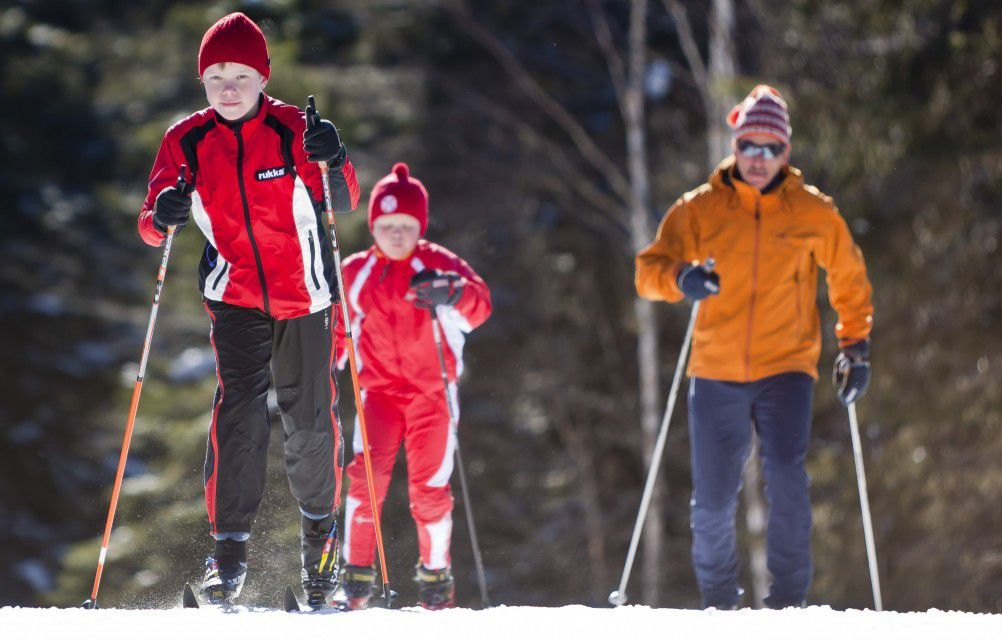 Cross-country skiing in Lake Placid