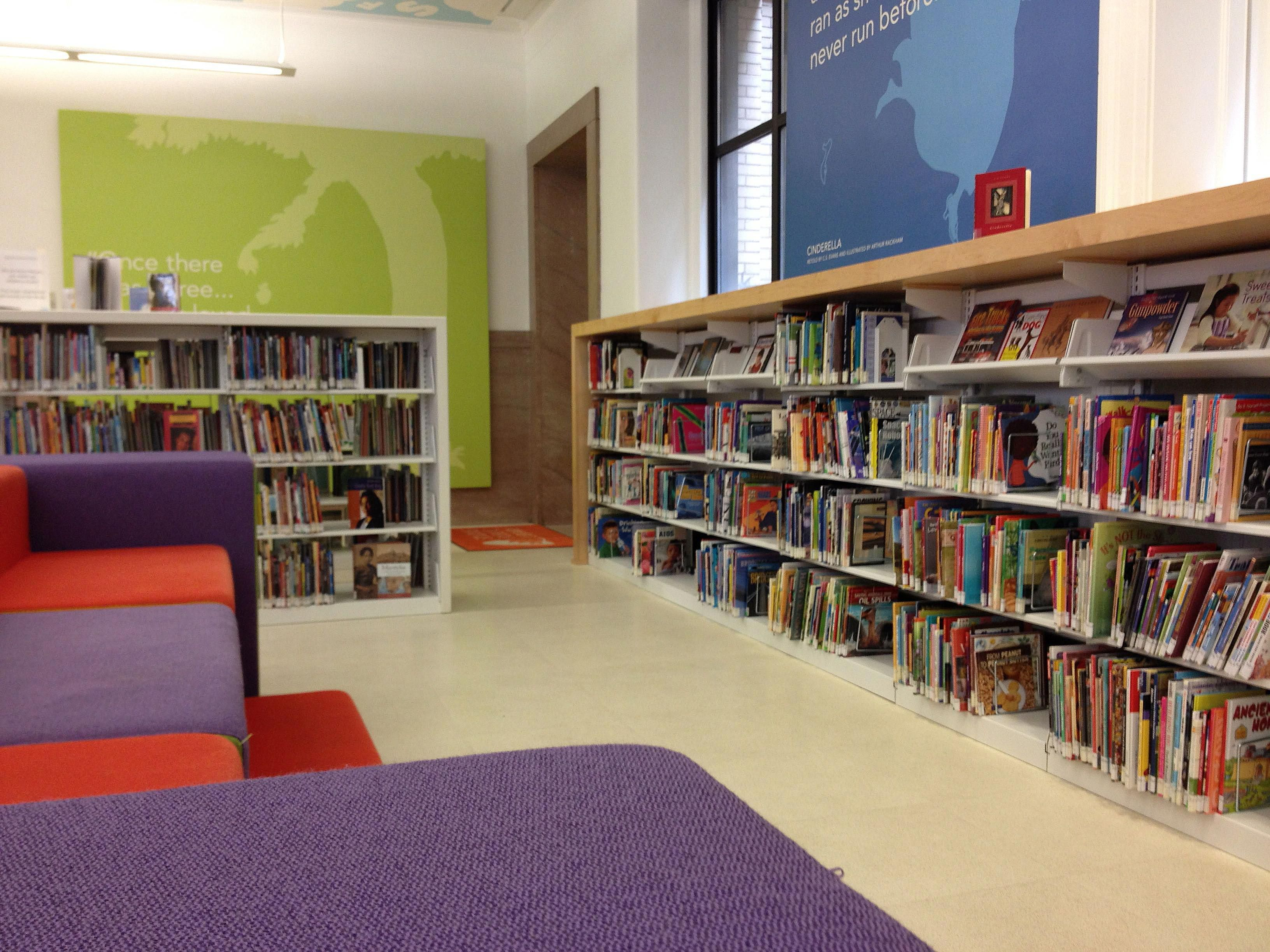 Children's Library at St. Louis Central Library