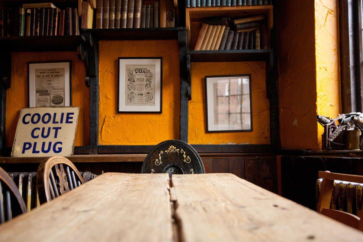 The Black Boy pub in Winchester