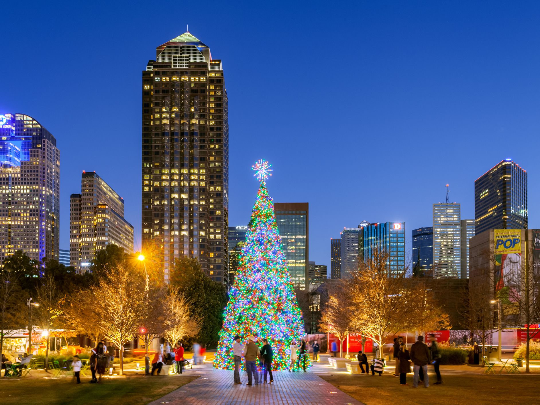 Holiday Light Displays In Dallas Fort Worth