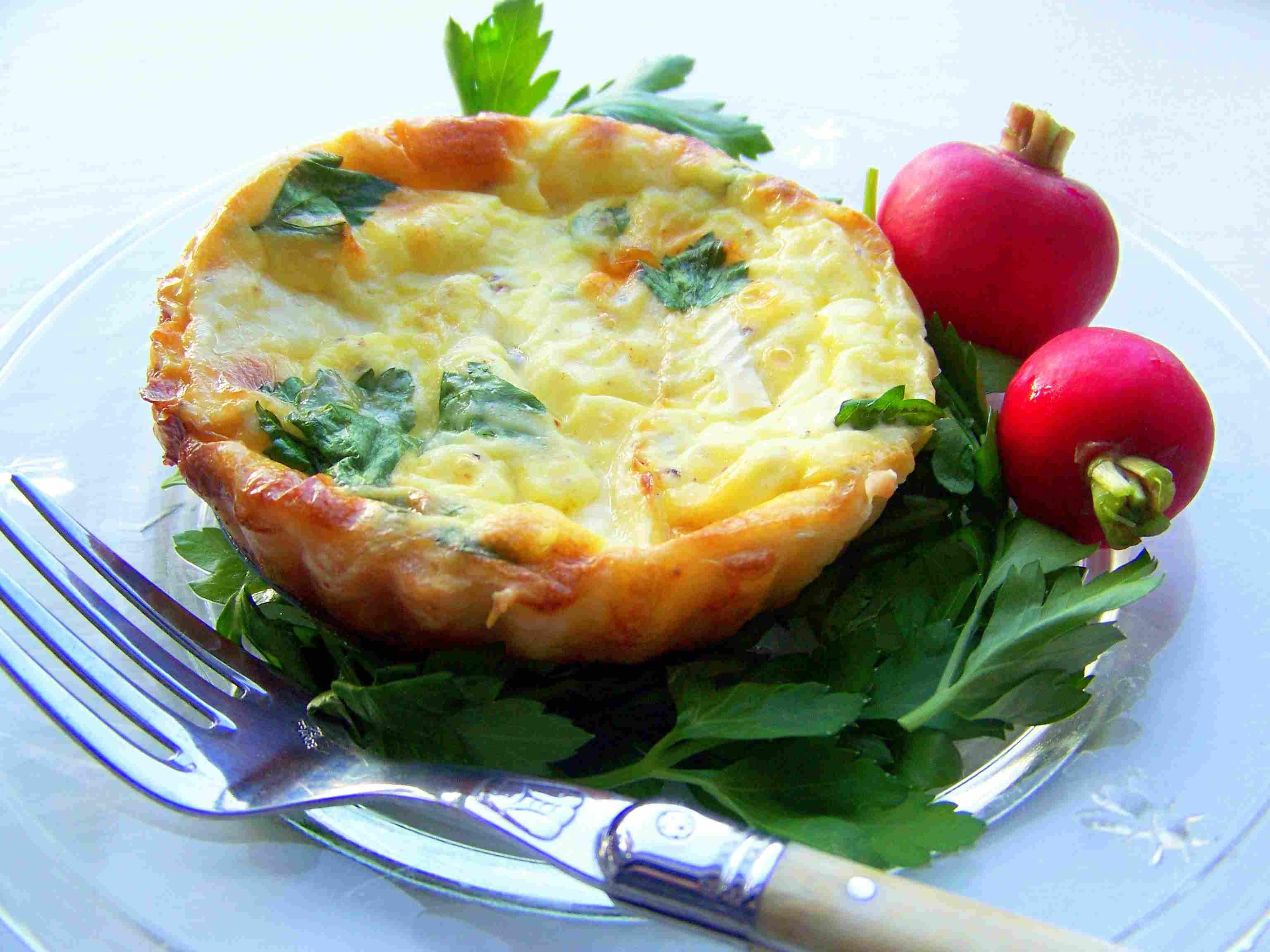 Cheese Tartlet