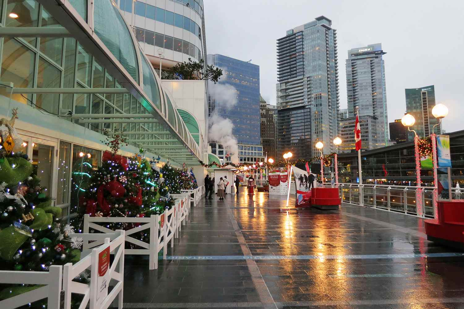 Christmas at Canada Place
