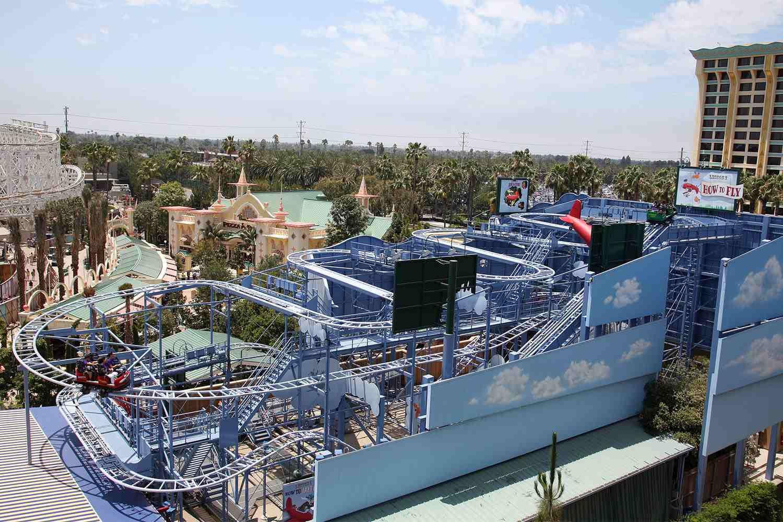 Goofy's Sky School at Disney California Adventure