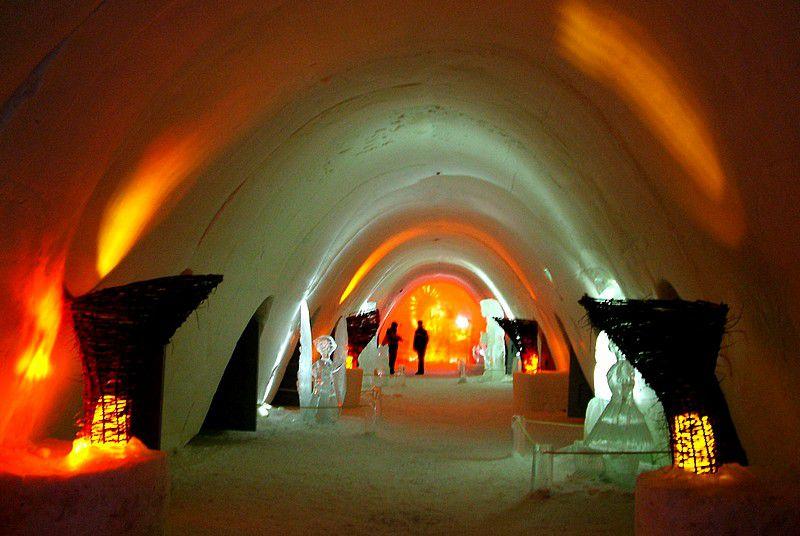 A Scandinavian Ice Hotel