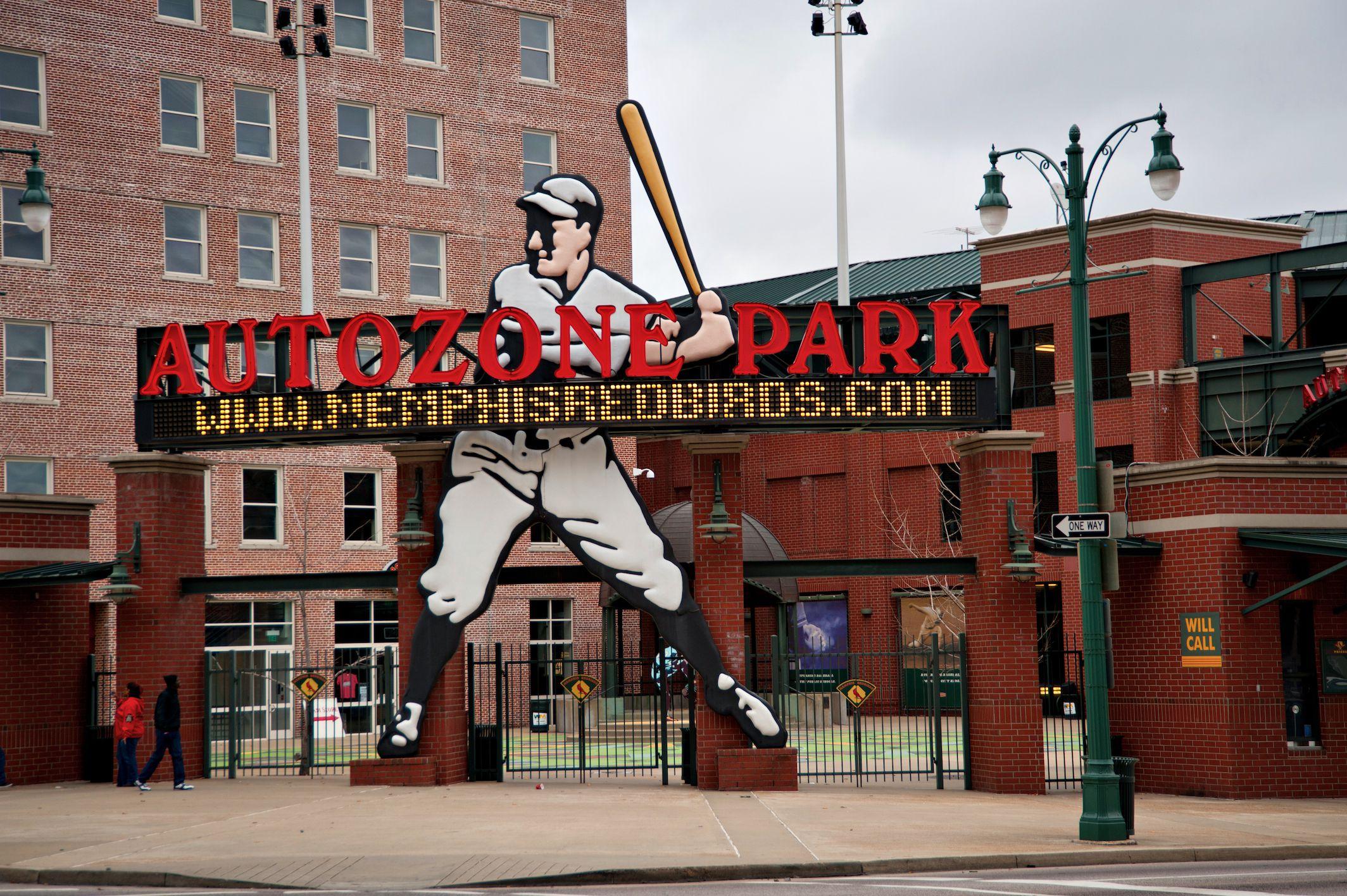 Memphis's Autozone Park