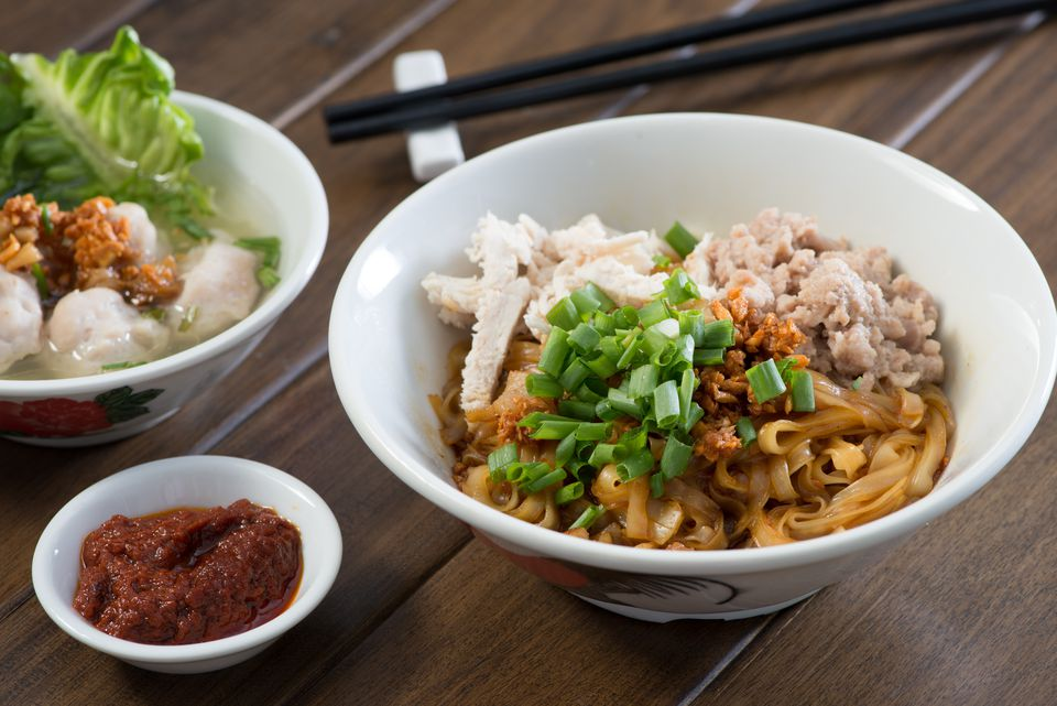 Kway teow Noodles, a popular Penang street food