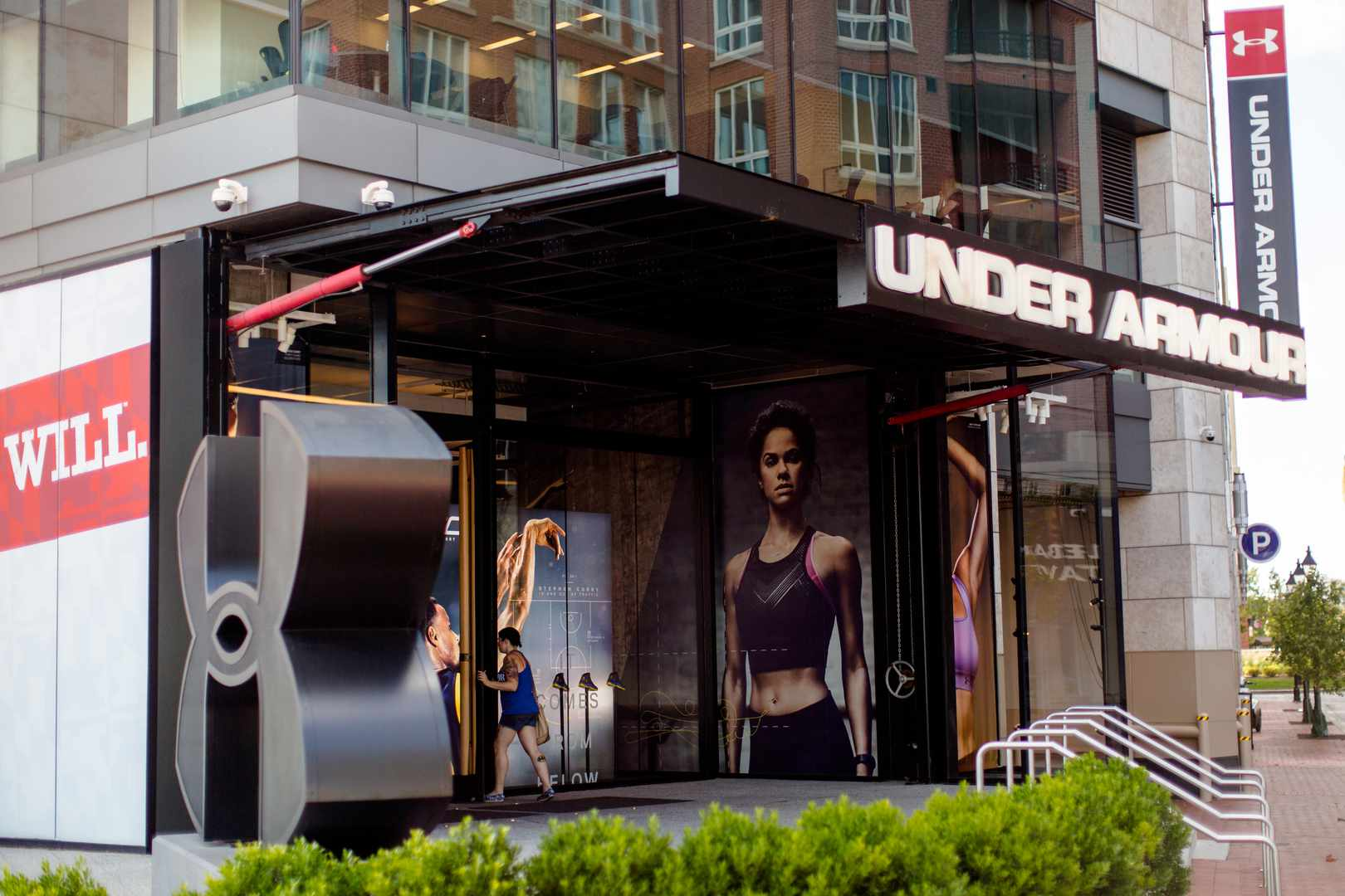 Under Armour flaghsip at Baltimore Harbor East