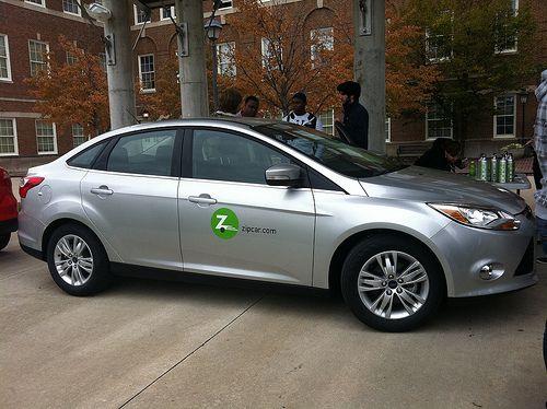 Zipcar in Seattle