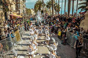 Sitges' Carnival Parade near Barcelona