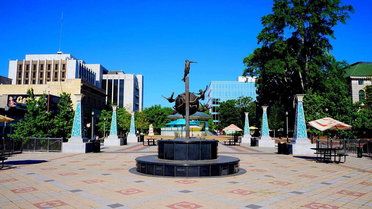 Decatur Square in Decatur Georgia