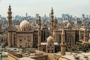 View of Cairo Citadel, Egypt