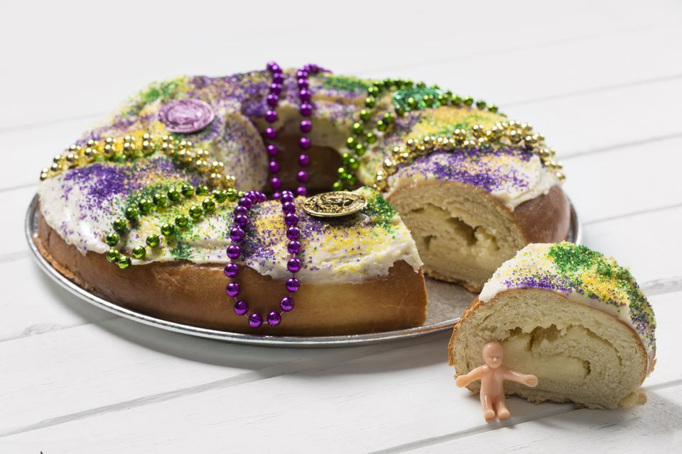 Pastel de Rey Mardi Gras