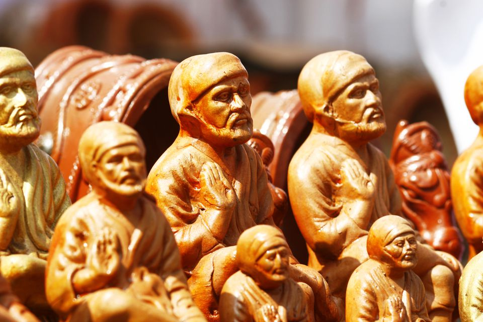 Miniature figurines of shirdi sai baba