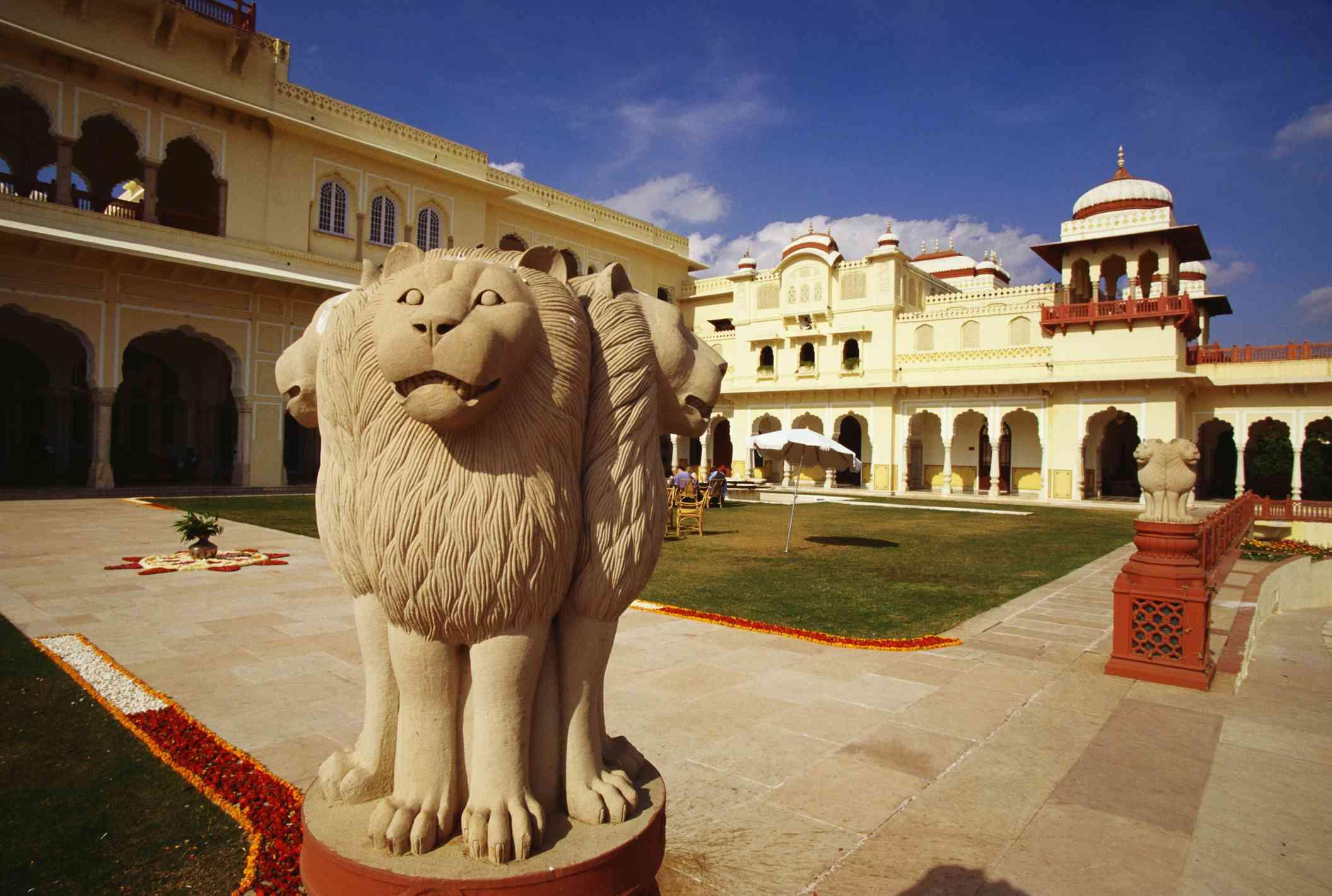 Rambagh Palace, Jaipur.
