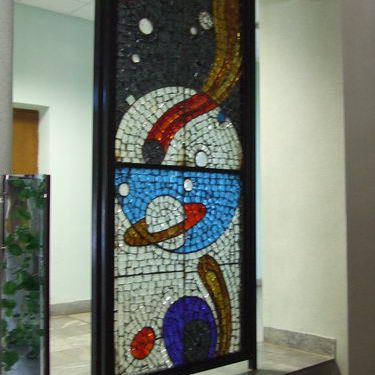 Stained Glass Window at Star City near Moscow