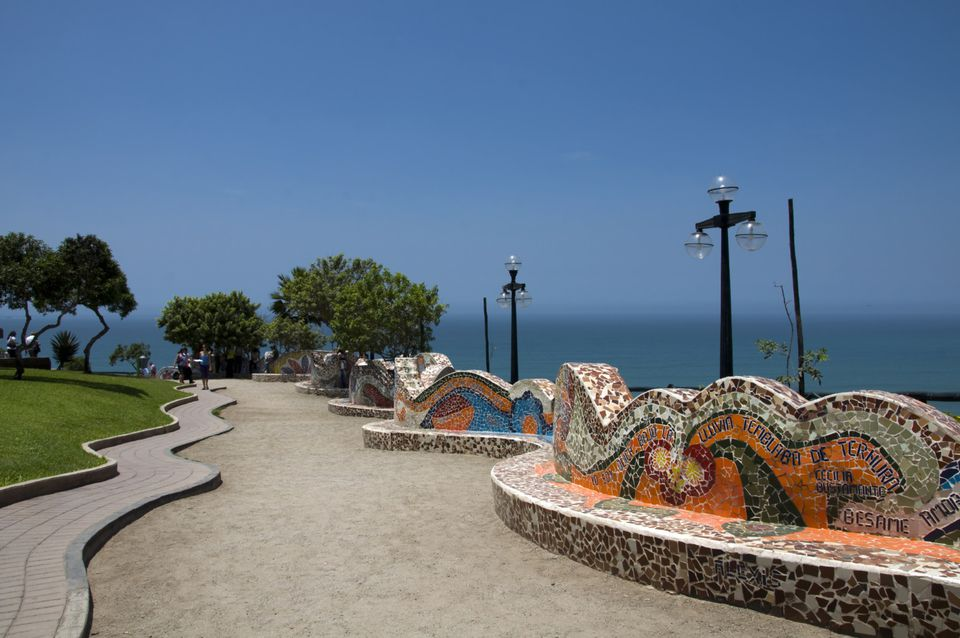 The Parque del Amor in Miraflores