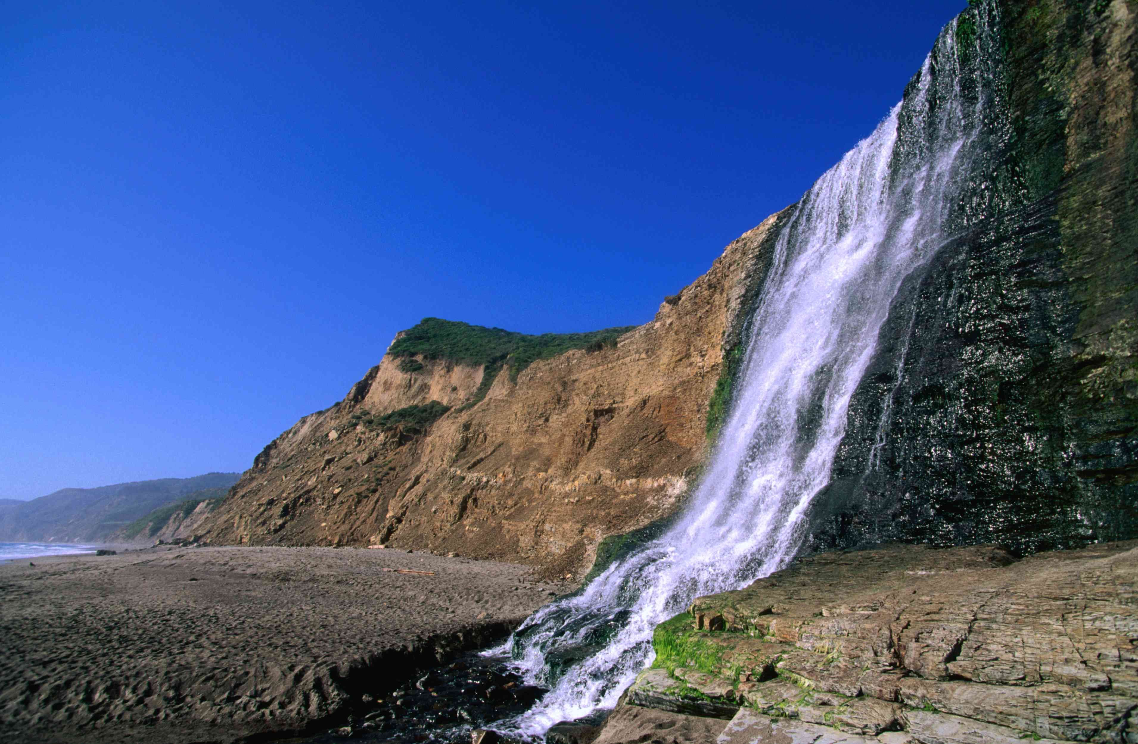 Alamere Falls in Point Reyes, California
