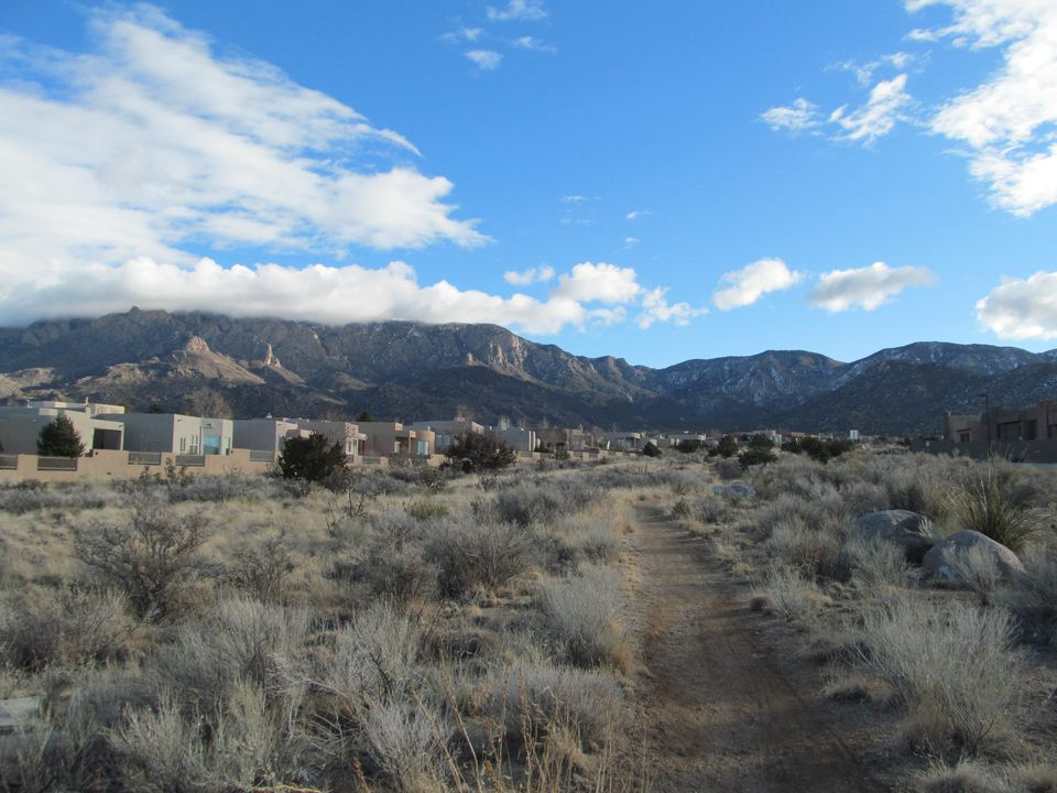 High Desert, Albuquerque New Mexico - from the corner of Academy Rd and Cortadena St