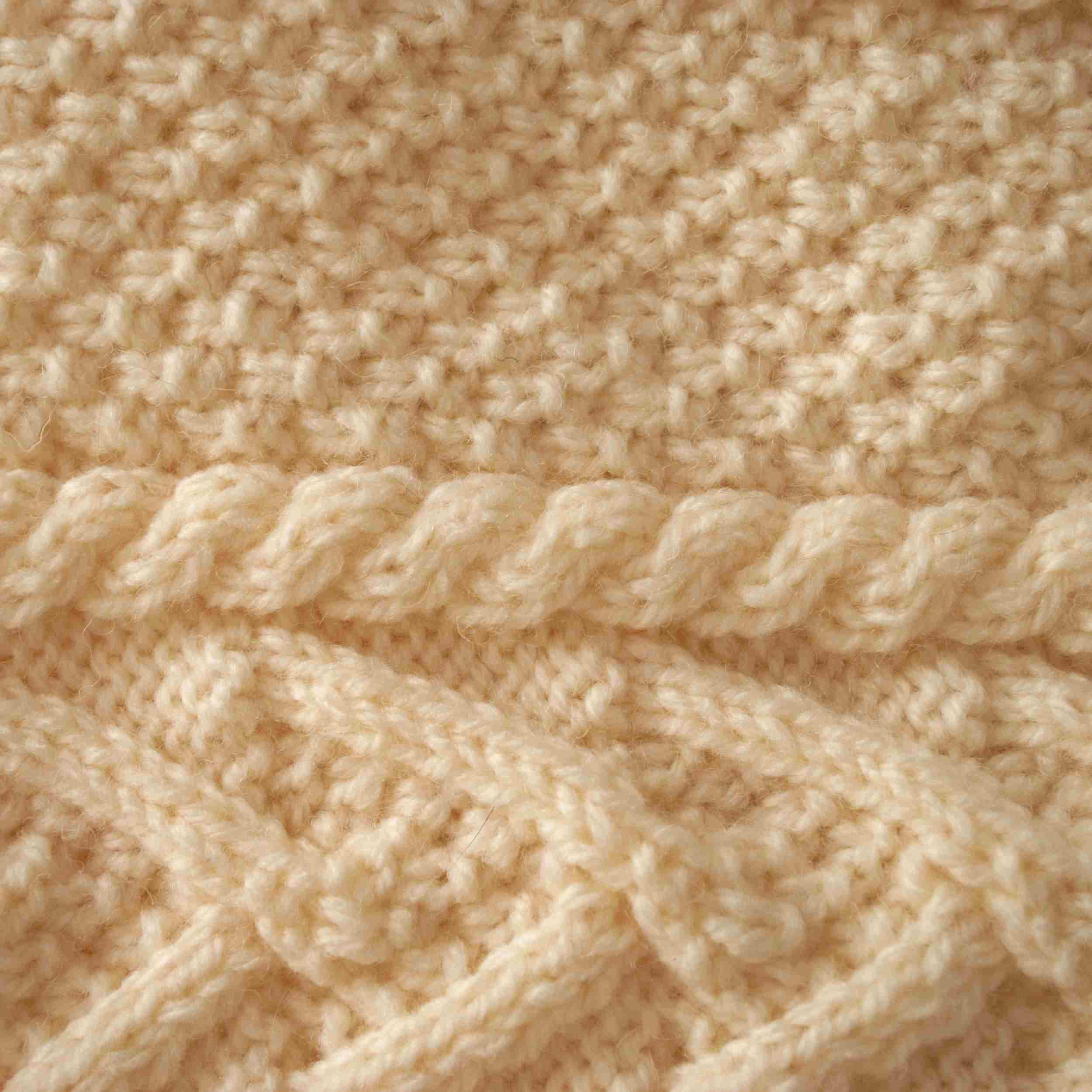 Aran Knit Background