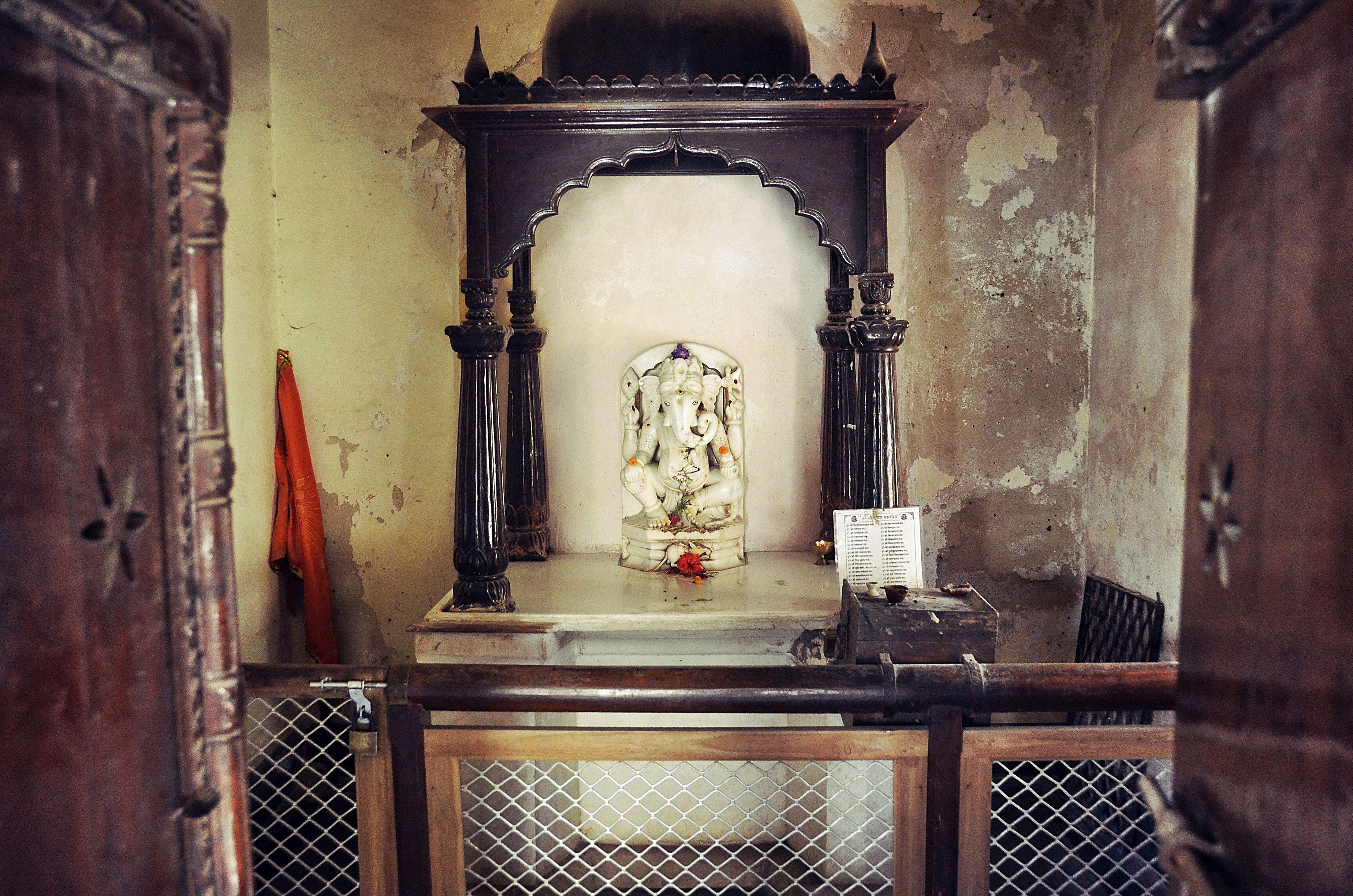 Idol in Ganpati Tempel.