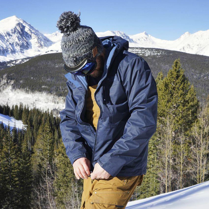 North Face Arrowood Triclimate Ski Jacket
