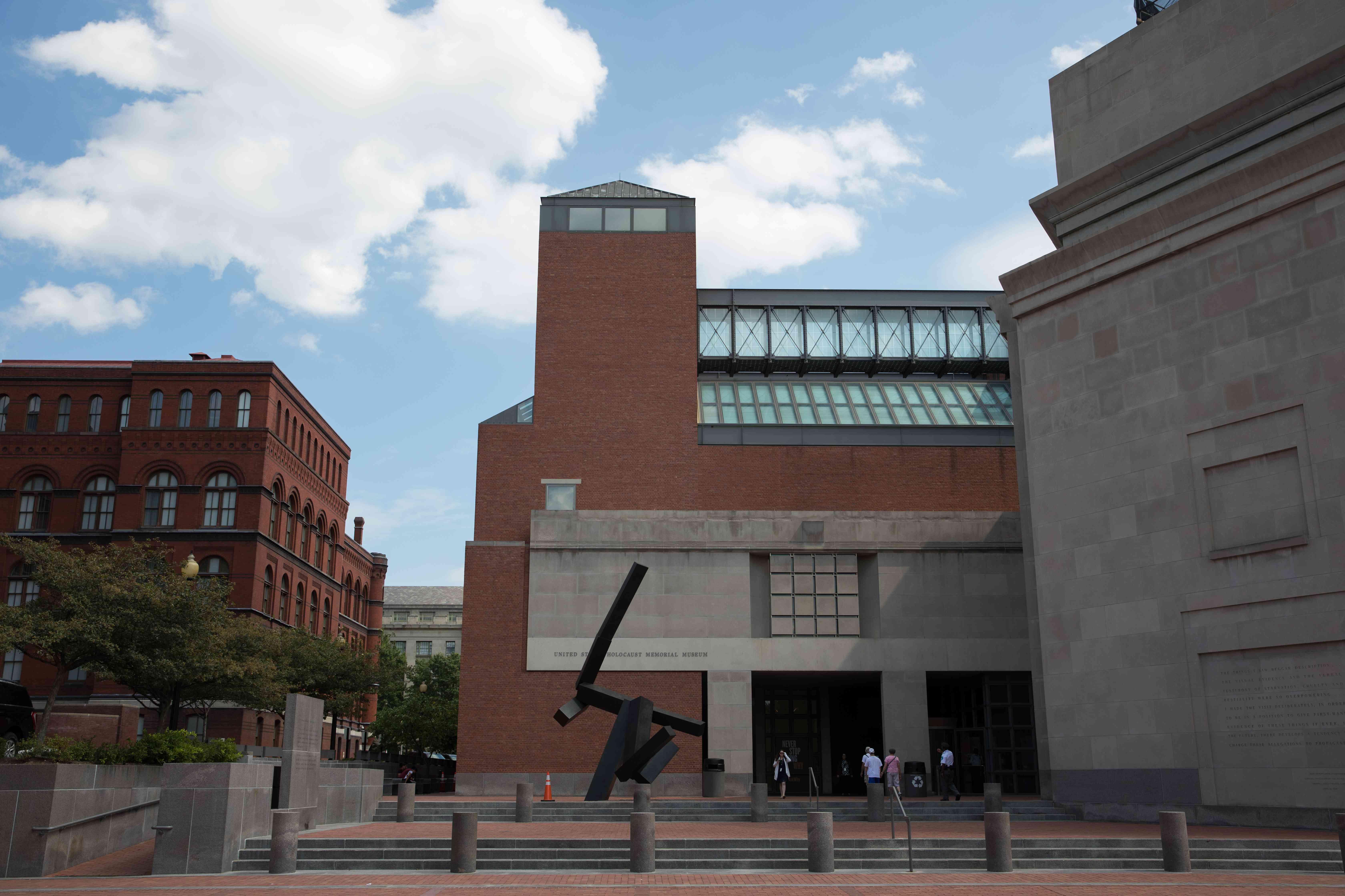 Exterior of the US Holocaust Memorial in DC