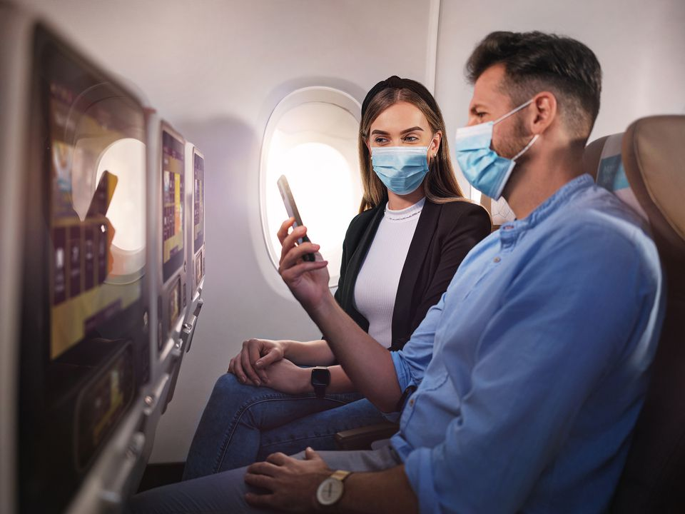 Etihad Airways passengers