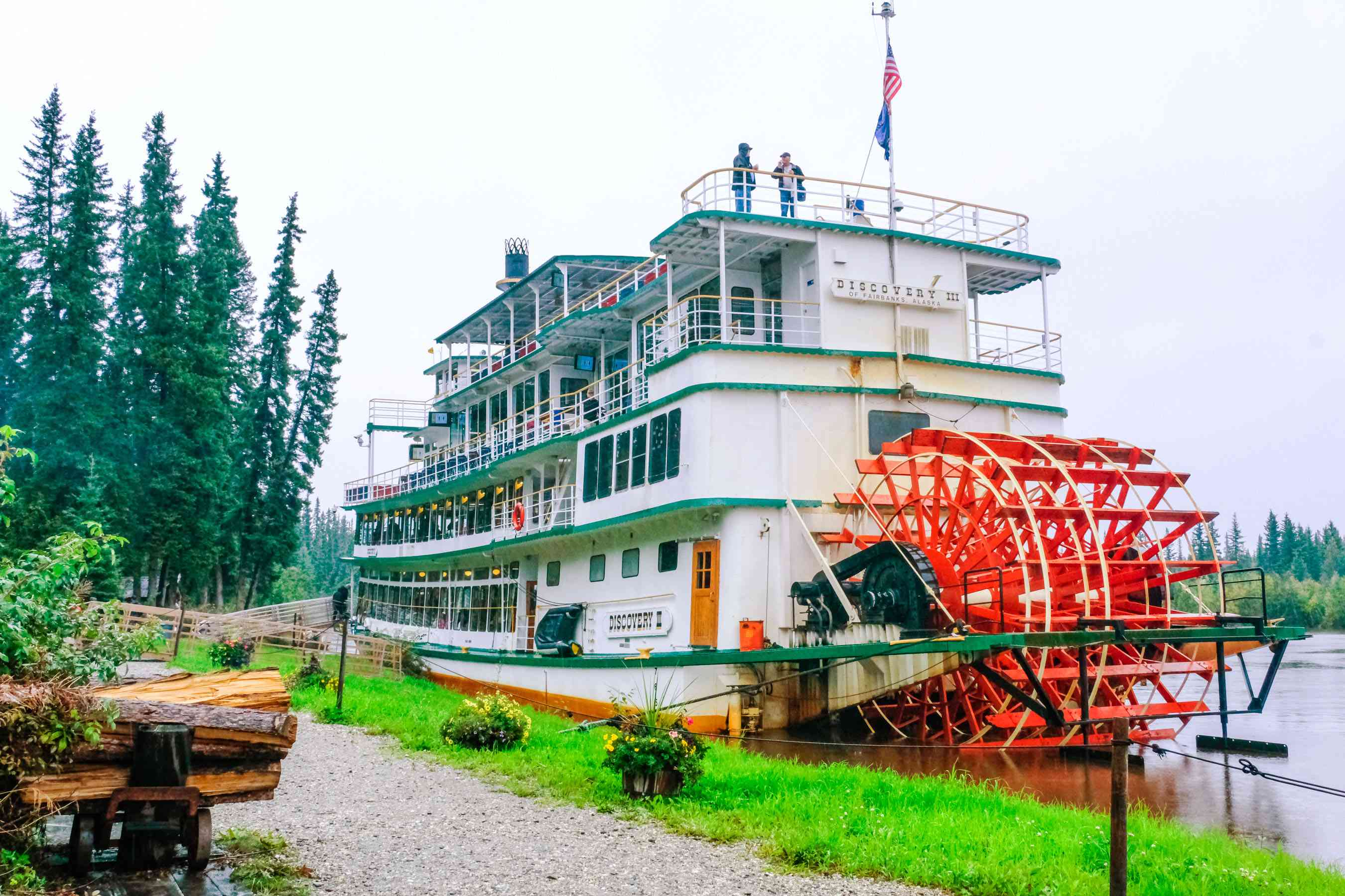 The Riverboat discovery
