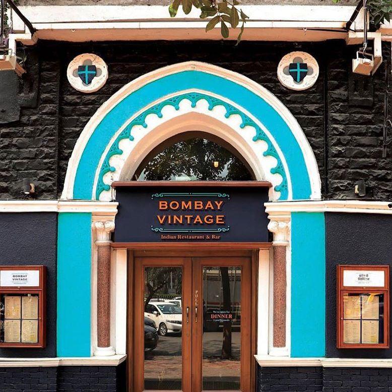 Exteriror to Bombay Vintage restaurant