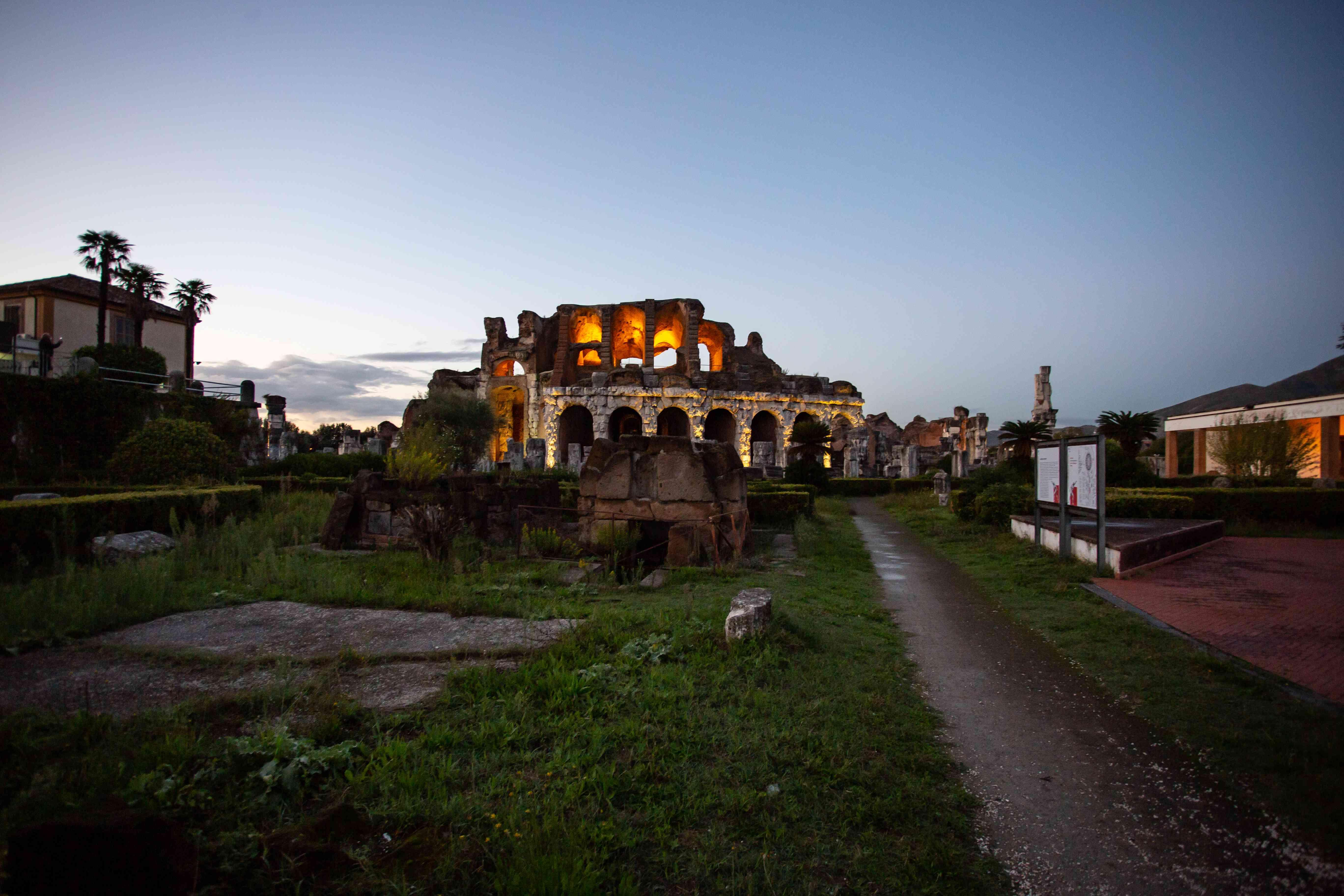 Capua Roman Theatre