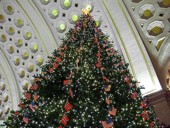 Christmas 2017 At Union Station In Washington, D.C