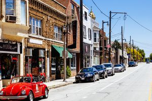 Kinnickinnic Avenue - Bay View district, Milwaukee